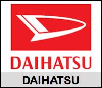 Lista de códigos de pintura Daihatsu